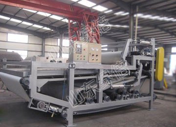 Sewage Belt Filter Press With Large Processing Capacity