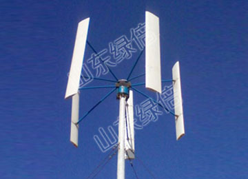 Roof-Mounted Vertical Wind Generator
