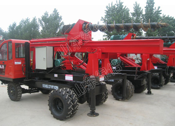 High Performance Hydraulic Pile Driver