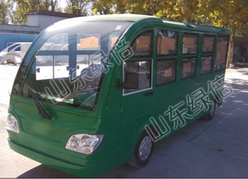 11 Seats Electric Shuttle Resort Car