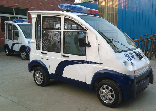 Closed Body Electric Security Patrol Car