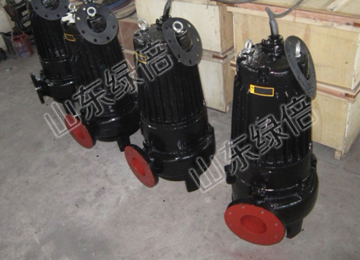 WQ Non Clogging Impeller Submersible Sewage Pump